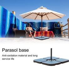 Garden Umbrella Base Outdoor Water Fill Parasol Stand Pool Sunshade Anchor Water Filled Patio Umbrella Stand Awning Accessory