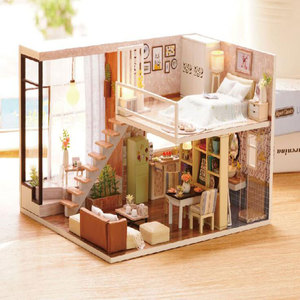 Doll House Miniature DIY Dollh
