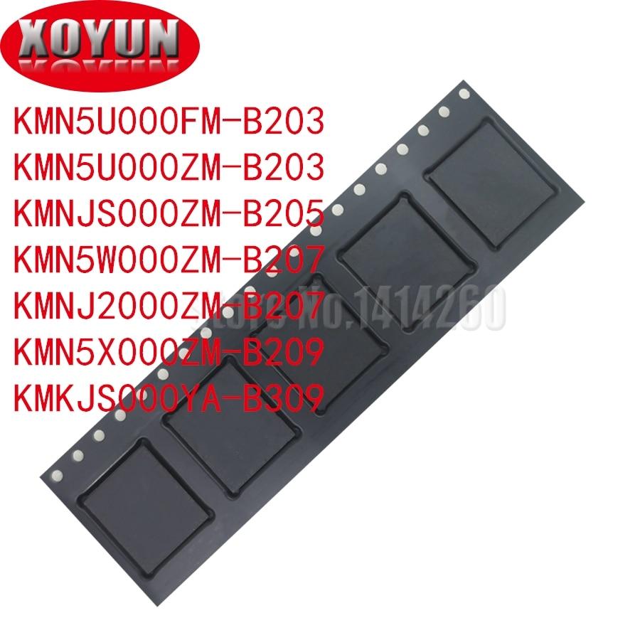 KMN5U000FM-B203 KMN5U000ZM-B203 KMNJS000ZM-B205 KMN5W000ZM-B207 KMNJ2000ZM-B207 KMN5X000ZM-B209 KMKJS000YA-B309 памяти на носителе emmc BGA