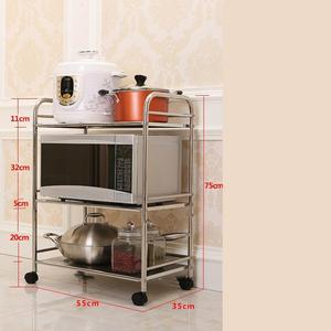 Image 4 - Holder Articulos De Cocina Home Estanteria Repisas Cuisine Rangement Raf With Wheels Estantes Organizer Kitchen Storage Rack