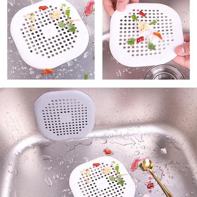 Creative Kitchen Drains Sink Strainers Filter Sewer Drain Hair Colander Bathroom Cleaning Tool Kitchen Sink Accessories Gadgets
