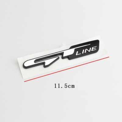 1X 車のチューニング Atuo エンブレムステッカー GT ラインの手紙起亜フォルテ Ceed スティンガー Shuma でリオの Sportage 魂セラートアクセサリー