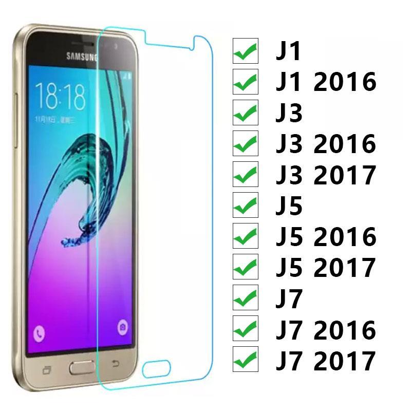 Защитное стекло для Samsung J1 J3 J5 J7 2016 2017 закаленное стекло на Galaxy J 1 3 5 7 1j 3j 5j 7j 6 Защитная пленка для экрана 9h|Защитные стёкла и плёнки для телефонов|   | АлиЭкспресс