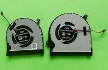 Ventilador original novo da cpu do portátil para dell 7000 insprion 15-7590 7591 p83f fã 0 mphwf 0861fc ventilador de refrigeração