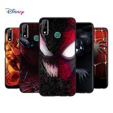 Czarny miękkie fajne Spider Man dla Huawei Y9S Y6S Y8S Y9A Y7A Y8P Y7P Y5P Y6P Y7 Y6 Pro Prime 2020 2019 przypadku telefonu