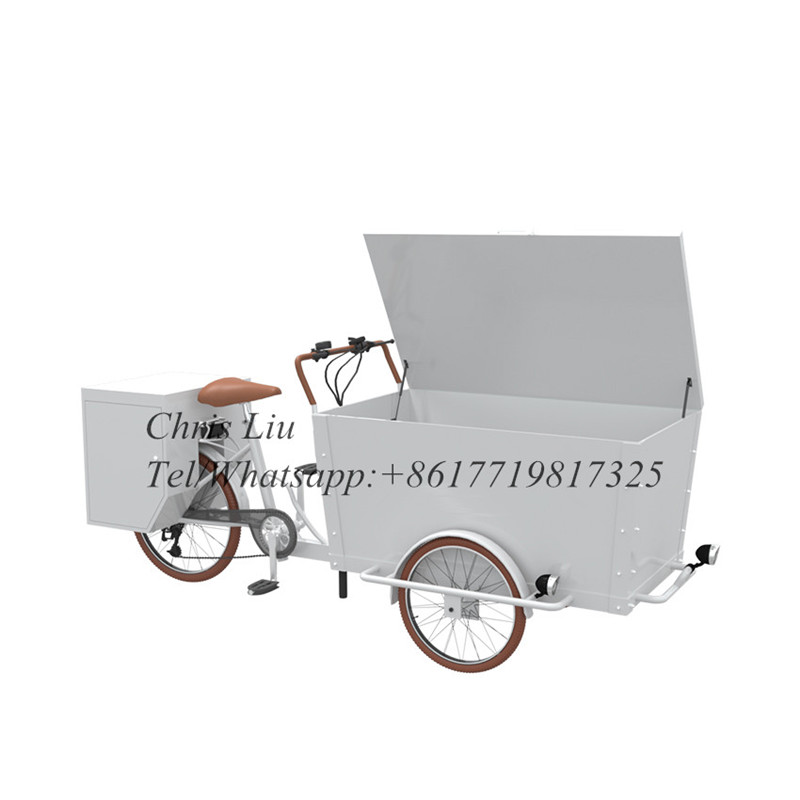 Coffee Cargo Bike 3 Wheel Cheap Cargo Utility Bike