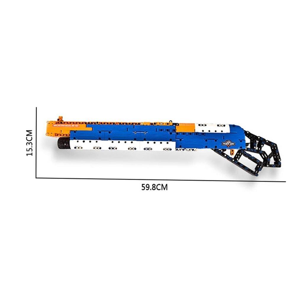 506 pièces 4D fusil assemblage bricolage modèle Puzzle soldat arme pistolet jouets début éducatif cadeau pour enfants garçons jouet pistolet vente