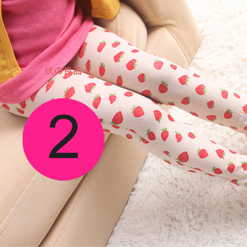 1 PC Girl's Leggings Clothing Accessorie Pants Underwear 6-10 Years Latest Trendy image