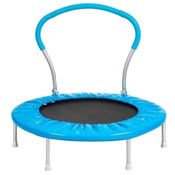 【USA w magazynie】 36 Cal trampolina z uchwytem niebieskim meble Dropshipping tanie i dobre opinie Nowoczesne Meble do salonu Szezlong Meble do domu