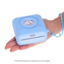 PeriPage A6 Термальность принтер силиконовый чехол с ремешком Анти-пыль анти-шок Анти-Царапины защитный противоударный чехол
