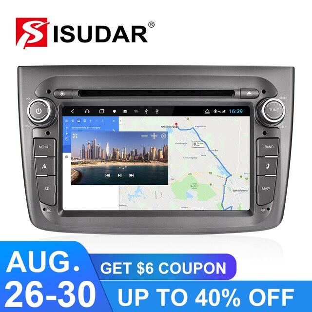Isudar H53 4G Android Auto Radio 1 Din For Alfa Romeo Mito 2008-  Car Multimedia 8 Core RAM 4GB ROM 64GB DVD Player DVR Camera 1