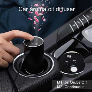 Image 2 - GIAHOL Mini Car Aroma Diffuser 20ml Metal Body Car Air Freshener Waterless Pure Essential Oil Diffuser for Car Room