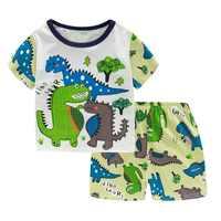 VELEIRO Bebê Meninas Pijama Bonito Girafa Dos Desenhos Animados Manga Comprida Pijamas Set Crianças Pijamas Meninos Pijama de Algodão Homewear Criança Roupas