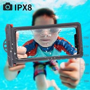 Image 4 - IPX8 Duiken Waterdichte Case Voor Iphone Se 2020 11 Pro Max 10 X Xs Xr 7 8 6S Plus onderwater Telefoon Case Voor Samsung S20 Note 10 +