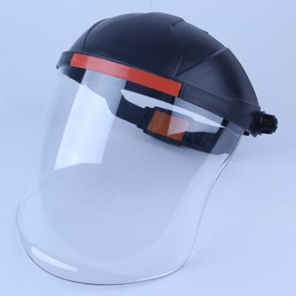 Portable Safety Protective Cover Head-mounted Full Face Shield Clear Screen New 2020