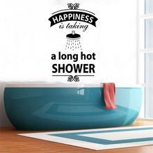 Наклейки на стену для ванной комнаты водостойкие lw678