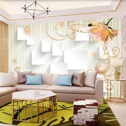 Европейский стиль 3D нефритовый Рельефный цветок настенная ткань 5D Bump гостиная диван ТВ фоновые обои бесшовные настенные