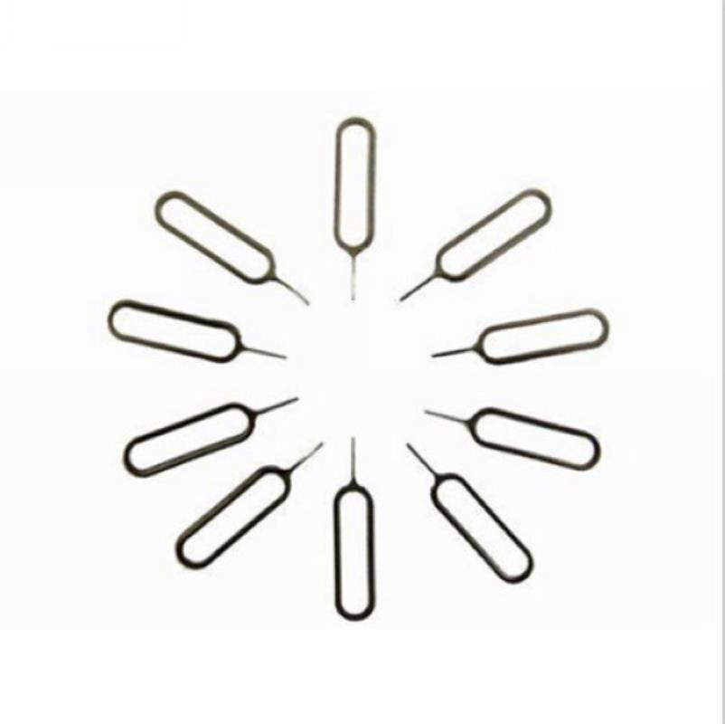 10pcs SIM Card Tray Ejector Eject Pin Key Removal Tool for Smart Mobile Cell Phone Universal Sim Card Eject Pin Accessories