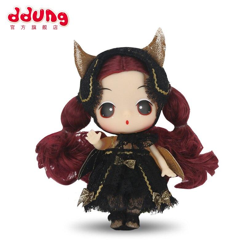 ddung bebe boneca brinquedos demonio 3y moda simulacao 18cm confuso macio vestir se bonito asa menina