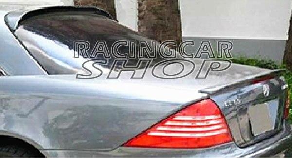 L-Style UNPAINTED Rear ROOF Spoiler fit for Mercedes BENZ CL W215 CL500 CL600 CL55 CL65 2000-2007 M158F 3