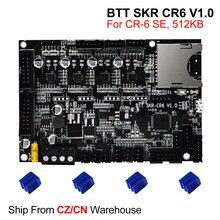 BIGTREETECH SKR CR6 V1.0 płyta sterowania z TMC2209 UART 3D drukarki części dla Creality CR6 SE Upgrade zestawy SKR MINI E3 Skr V1.4
