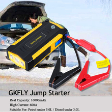 GKFLY Benzin Diesel Auto Starthilfe Start Gerät Tragbare Power Bank 12V Starter Kabel Auto Batterie Booster Ladegerät