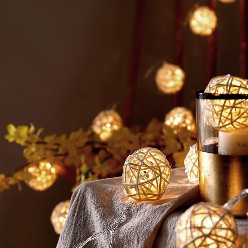 Sepak Takraw Lantern Romantic Girl Heart Hostel Network Red Room Layout Bedroom Decoration Star Light String