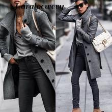 New Arrival 2019 Autumn Women Fashion Comfortable Loose A-line Trench Coat Profe