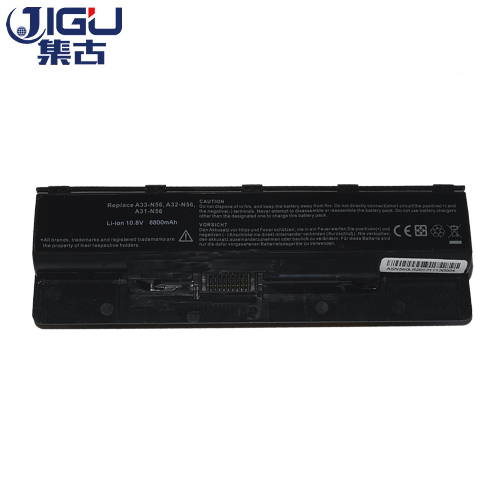 JIGU New 12Cells Laptop <font><b>Battery</b></font> For <font><b>Asus</b></font> N46 <font><b>n46v</b></font> N46VJ N56 N56D N56V N76 N76V A31-N56 A32-N56 A33-N56 image