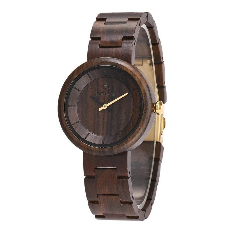 2019 New Wood Quartz Watch Amazon Speed Sell Pass Hot Style Spot A Substituting Factory