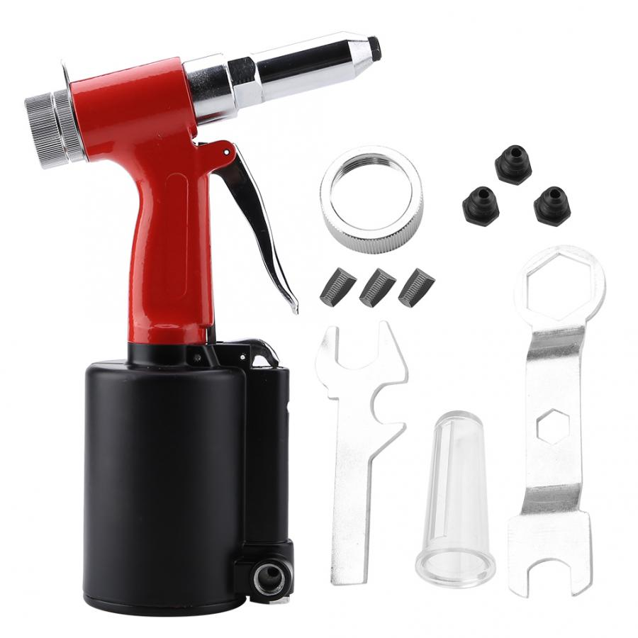 "Industrial Pneumatic Riveter Rivet Gun Air Powered Riveting Tool Pneumatic Riveter 3/32"" 1/8"" 5/32"" 3/16"""