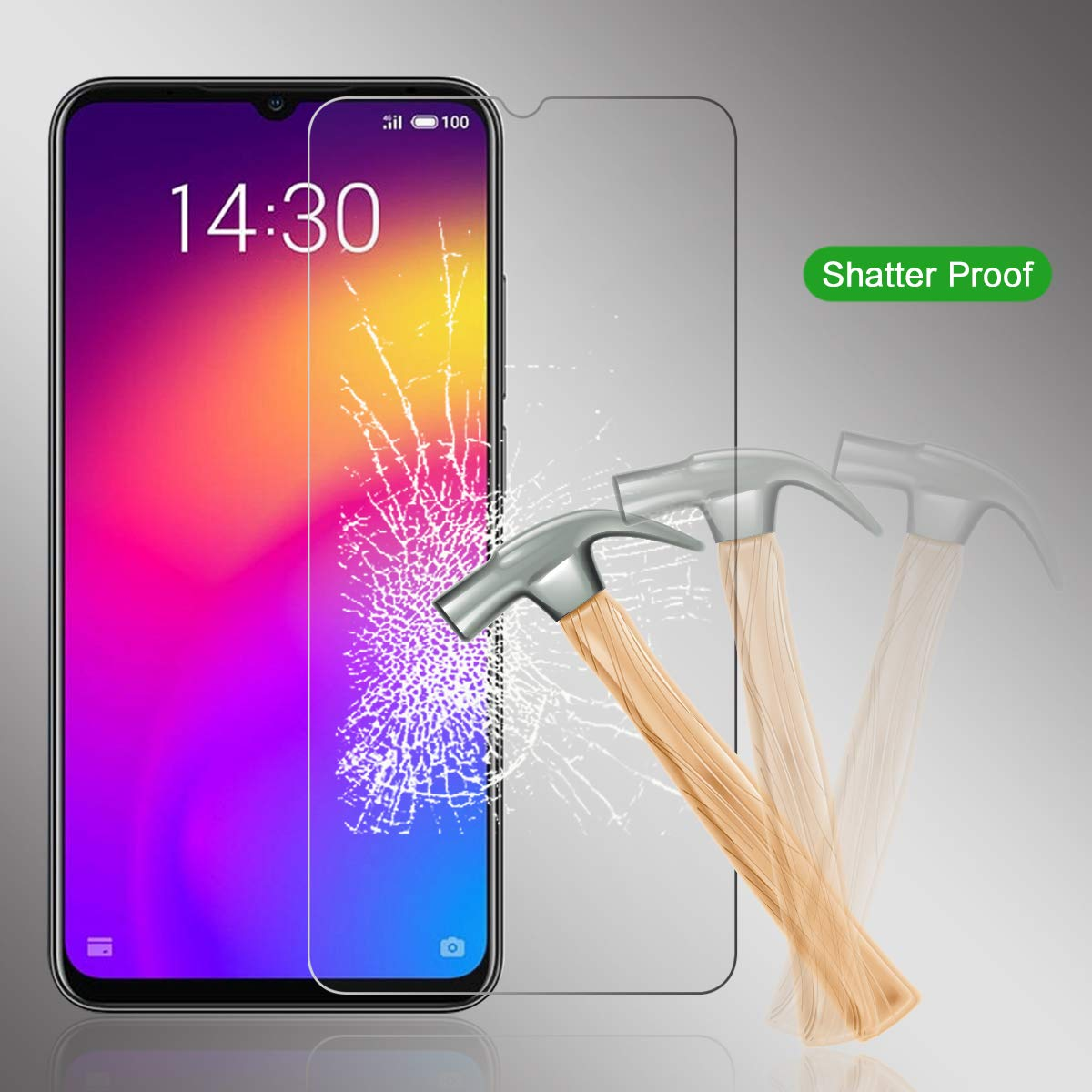 Screen Protector FÜR <font><b>Meizu</b></font> 16S <font><b>Pro</b></font> <font><b>16T</b></font> M8 Lite M6T Premium Gehärtetem Glas Für <font><b>Meizu</b></font> HINWEIS 8 9 image
