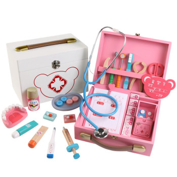 Doctor Toys Educational Children Pretend Play Toys Nurse Role-Play Doctor  Dentist Play Set Medicine Cabinet Medical Kit Gifts 15 pieces set children pretend play doctor nurse toy set portable suitcase medical kit kids educational role play classic toys