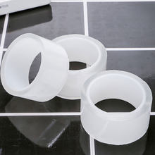 Cinta de doble cara lavable, Nano mágica, fuerte, transparente, superimpermeable, pegatina de baño transparente, 1/3/5 m