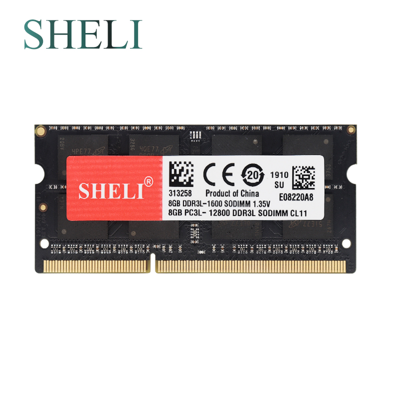 SHELI New Notebooks Memory 8GB 2RX8 PC3-12800S/PC3-14900S 1600MHZ/1866MHZ Laptop Memory image