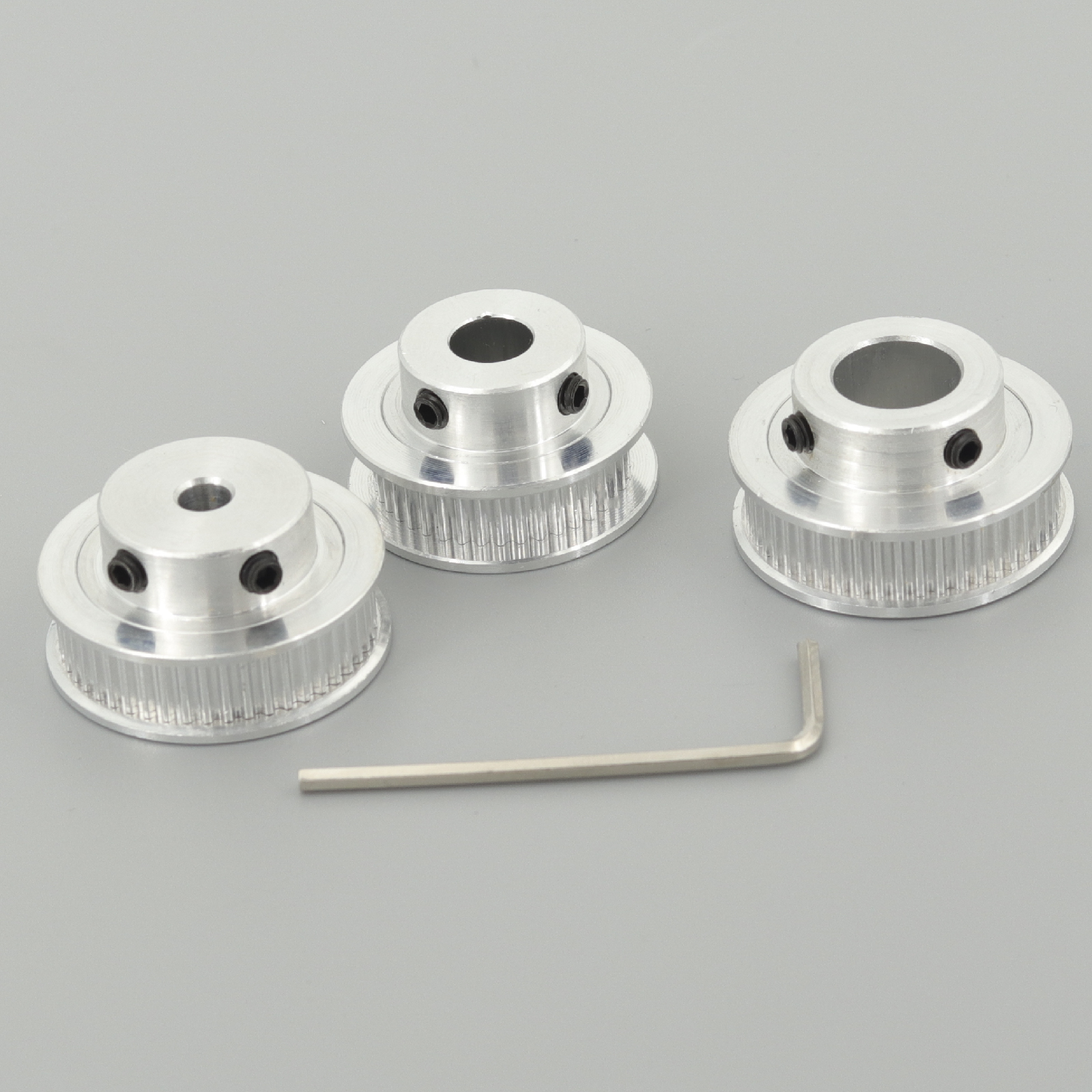 GKTOOLS GT2 Timing Pulley 2GT 48 Tooth Teeth Bore 5/6/6.35/8/10/12mm Synchronous Wheels Width 6mm Belt 3D Printer Parts