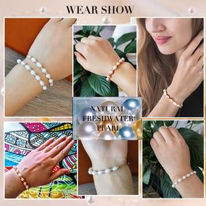 Image 2 - CoeufuedyG bransoletka perłowa moda wielokolorowy bransoletka dla kobiet prezent regulowany urok bransoletki biżuteria