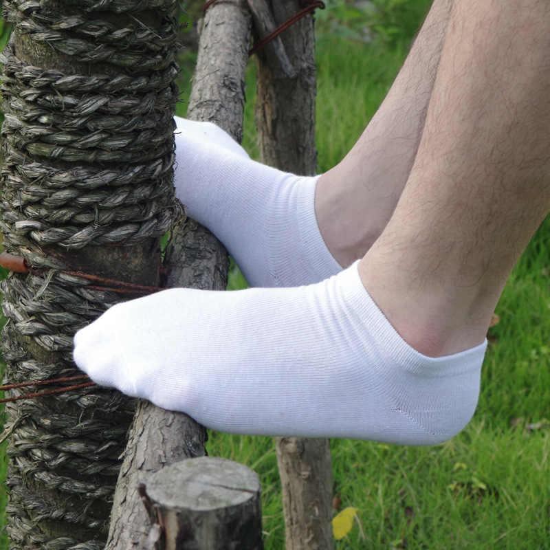 6pcs = 3 짝/몫 봄 여름 남성 코 튼 발목 양말 남성 비즈니스 캐주얼 솔리드 컬러 짧은 양말 남성 양말 슬리퍼 meias
