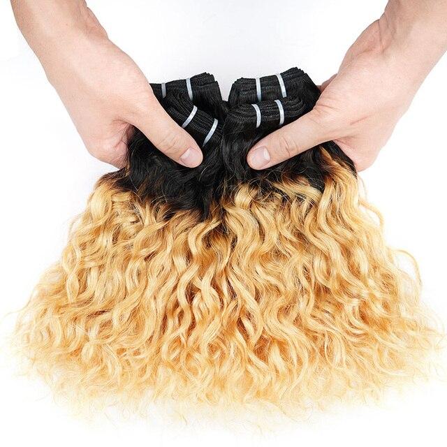 100% Brazilian Human Hair Extension 10