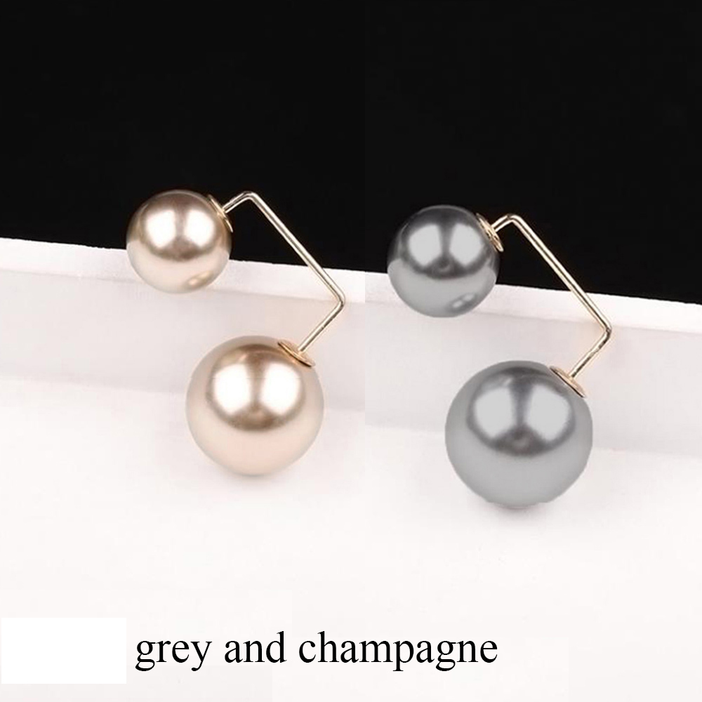 grey and champagne