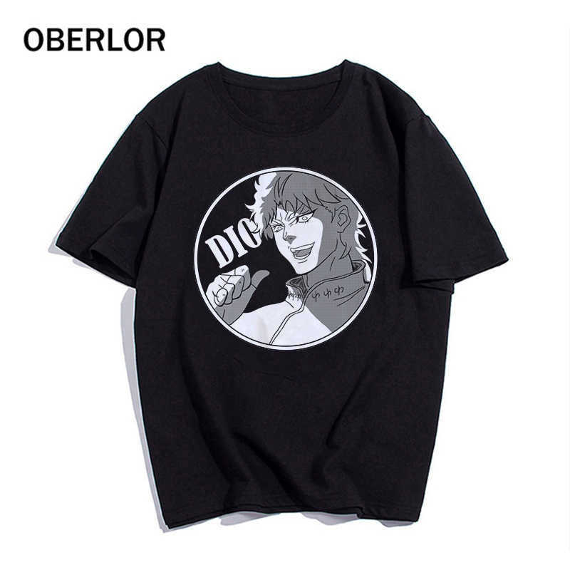2020 T gömlek serin JoJo tuhaf macera grafik baskı Tee Homme japon animesi stil Tshirt artı boyutu yumuşak üstleri T-Shirt erkekler