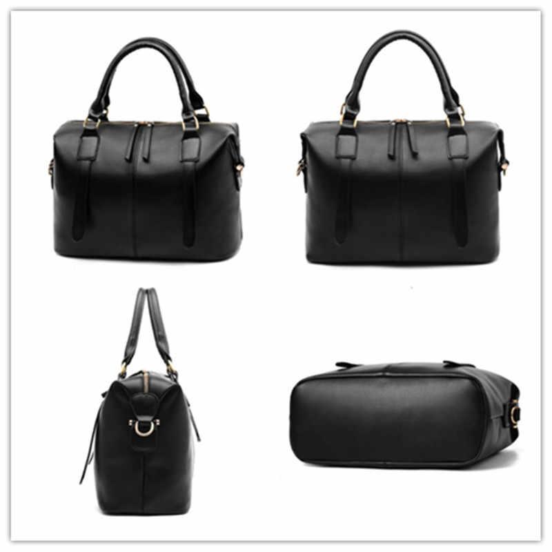 IMYOK женская сумка новая двойная молния Модный известный бренд Женская сумка сумки на плечо большой емкости Женские сумки Bolsa Feminina