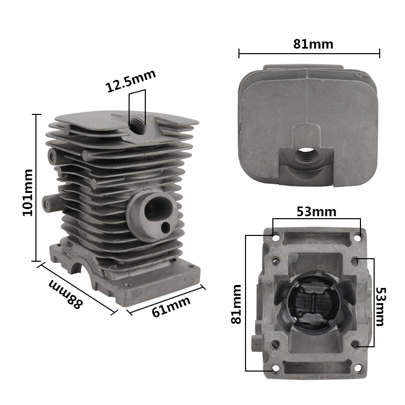 Kit For Piston Chainsaw Stihl MS170 For Parts Replacement Carburetor CMCP Cylinder Engine