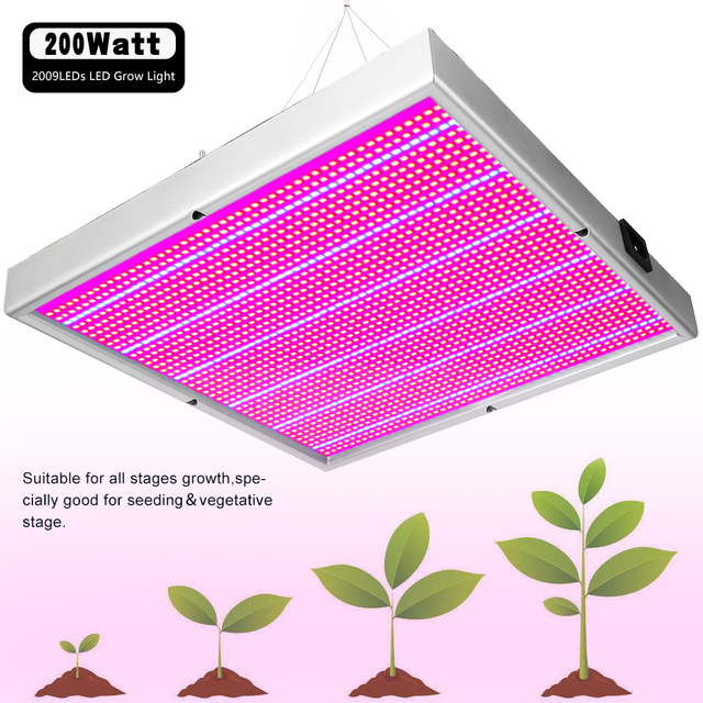 20W~1600W Full Spectrum LED Plant Grow Light Lamps For Flower Plant Veg Hydroponics System Grow/Bloom Accept Dropshipping 1