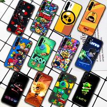 Leon Crow S-Stars Game Phone Case For Huawei P Mate 10 20 30 40 Pro Lite Smart 2019 2021 black Prime Fashion Cell Painting