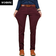 Vomint Brand New Mens Casual Pant High Stretch Elastic Fabri