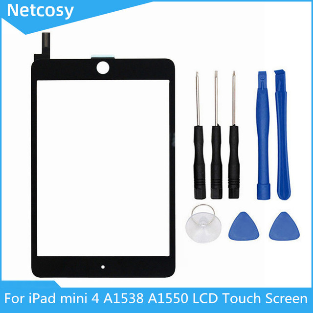 For Netcosy iPad mini 4 A1538 A1550 LCD Display Touch Screen Digitizer Panel Assembly Replacement Part For iPad mini 4 Replace