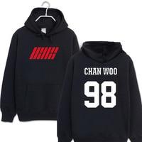 New Style Ikon Hoodie Album MY Type Gold Han Bin Bobby Gold zhi yuan B. I Celebrity Style Hoodie Men And Women