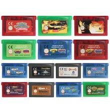 32 Bit Video Game Cartridge Console Card Driver EU Version For Nintendo GBA
