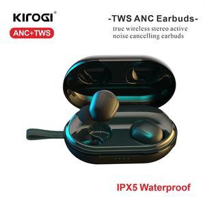 Беспроводные наушники ANC TWS с активным шумоподавлением, наушники-вкладыши с bluetooth 5,0 и зарядный чехол для спорта